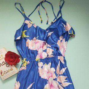 AE Floral Ruffle Hawaiian Dress